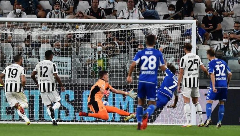 恩波利第二次在西甲聯賽中擊敗尤文圖斯