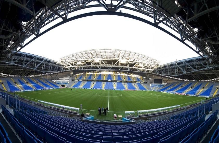 哈萨克斯坦和乌克兰的比赛将在看台上进行