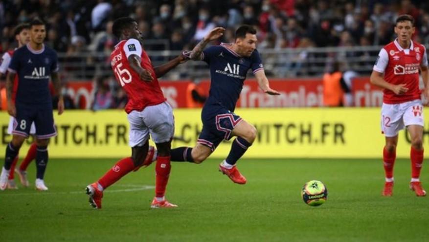 巴黎圣日耳曼队与兰斯的比赛