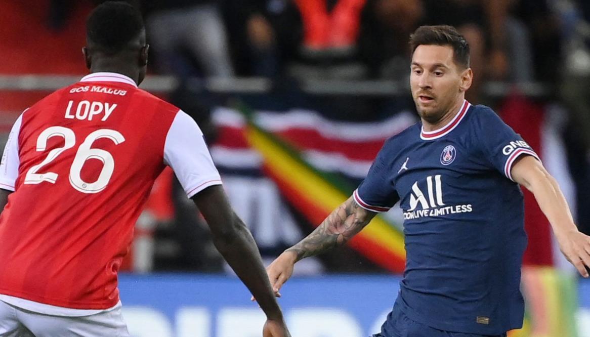 梅西在兰斯获胜中首次亮相巴黎圣日耳曼