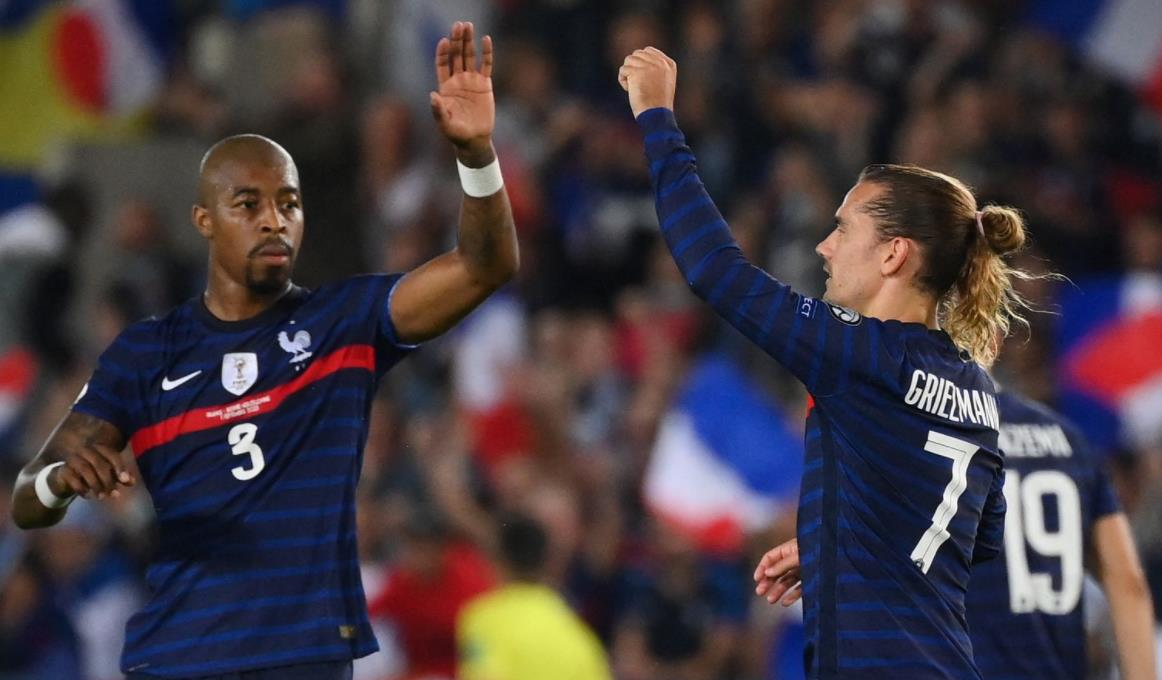 安托万~格里兹曼拯救世界冠军法国
