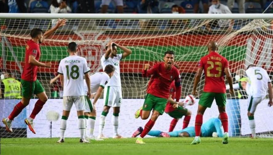 克里斯蒂亚诺·罗纳尔多以第 110个和第 111个进球打破男子国际进球纪录