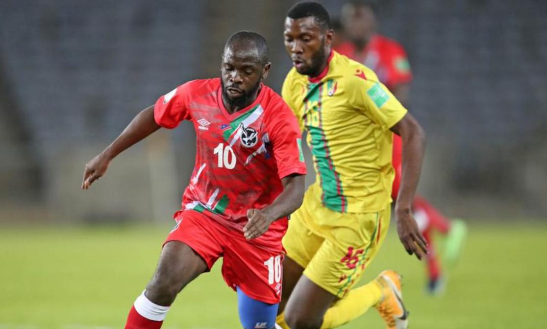纳米比亚队在奥兰多体育场比赛