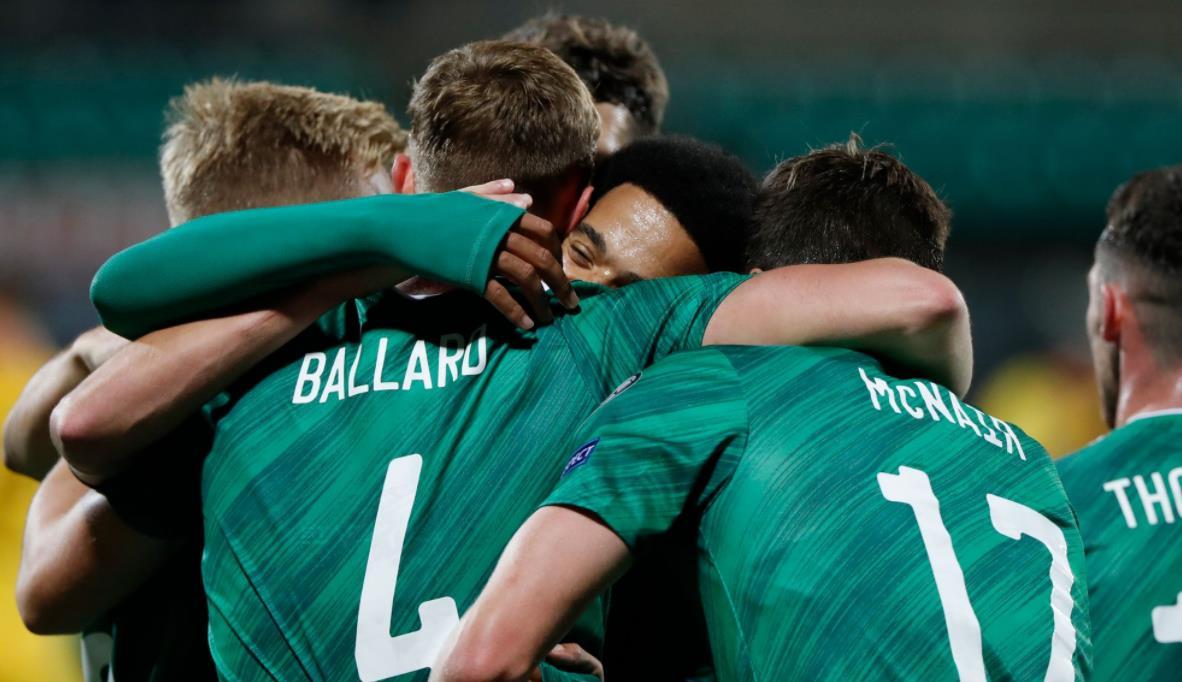 立陶宛在世界杯预选赛以1-4击败了北爱尔兰