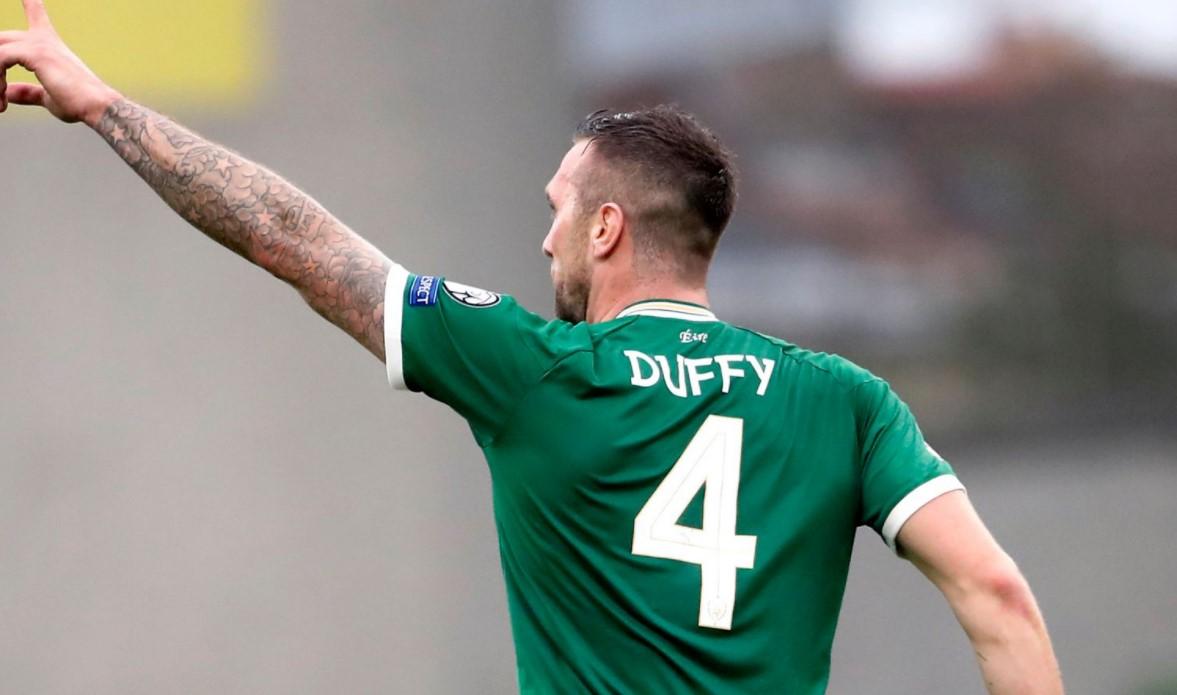 肖恩.达菲在对阵阿塞拜疆的比赛中拯救了爱尔兰