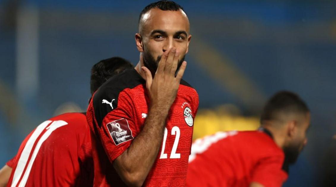 埃及队反击击败了加蓬