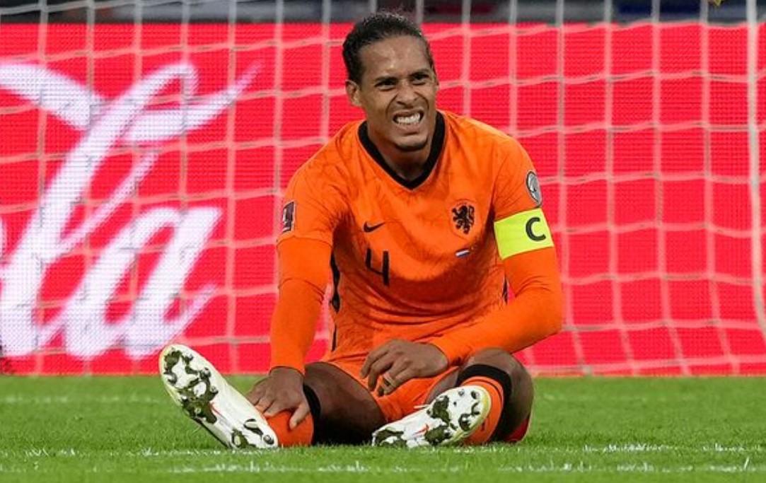 利物浦后卫在荷兰比赛中铲球后淡化脚踝受伤问题