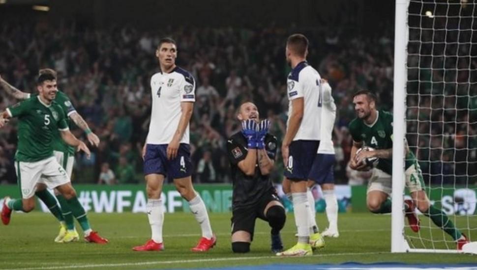 爱尔兰共和国与塞尔维亚在预选赛中战平
