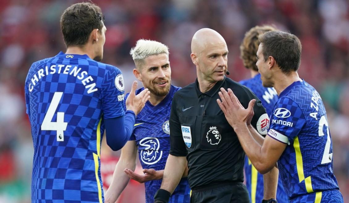 切尔西因未能在利物浦平局中控制球员而被英足总罚款 25,000 英镑