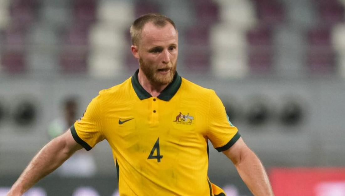 格兰特在世界杯预选赛奥德赛中为澳大利亚队效力
