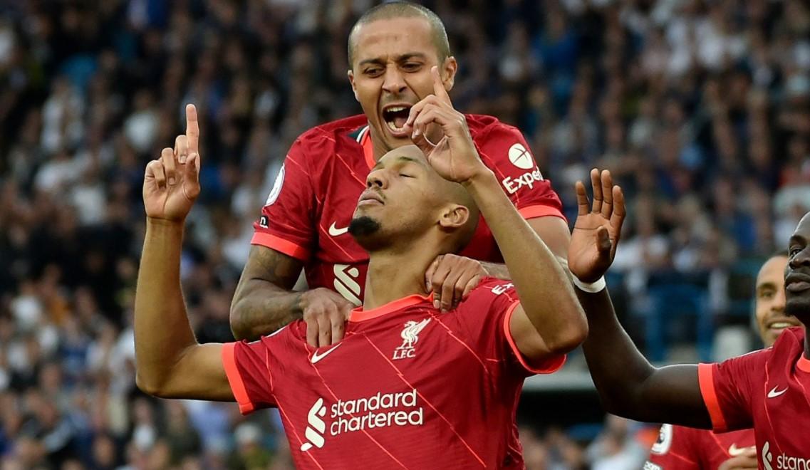 埃利奥特的伤病让利物浦在的胜利蒙上阴影,但蒂亚戈和法比尼奥是克洛普的关键