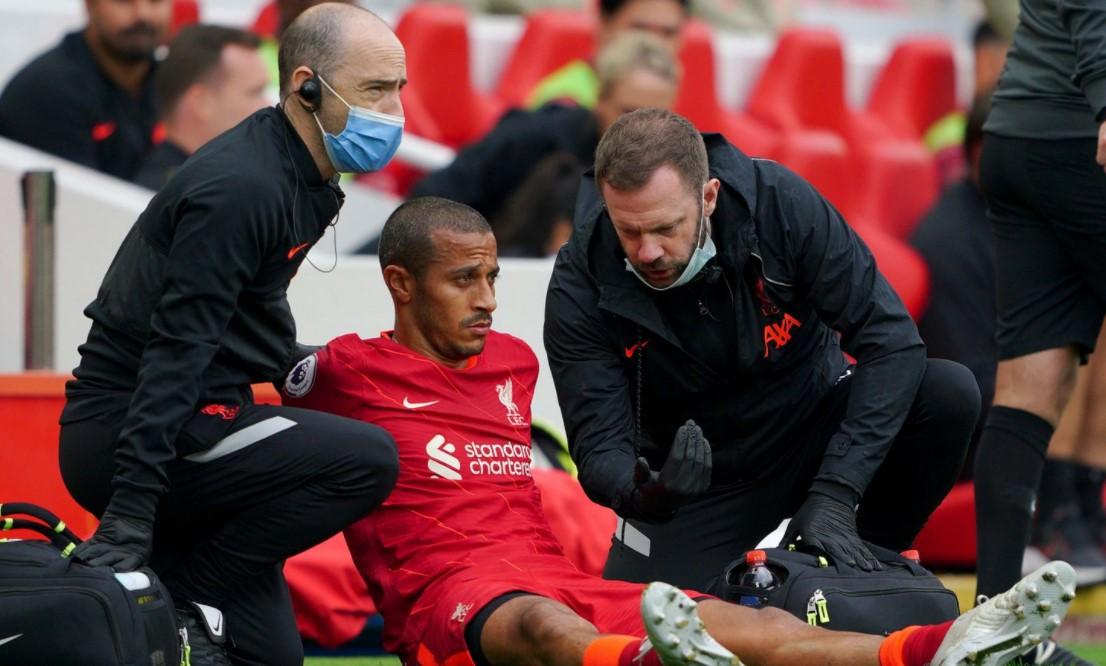 利物浦中场因伤缺席接下来的两场比赛