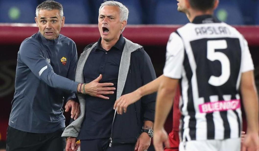 罗马挑战佩莱格里尼的红牌