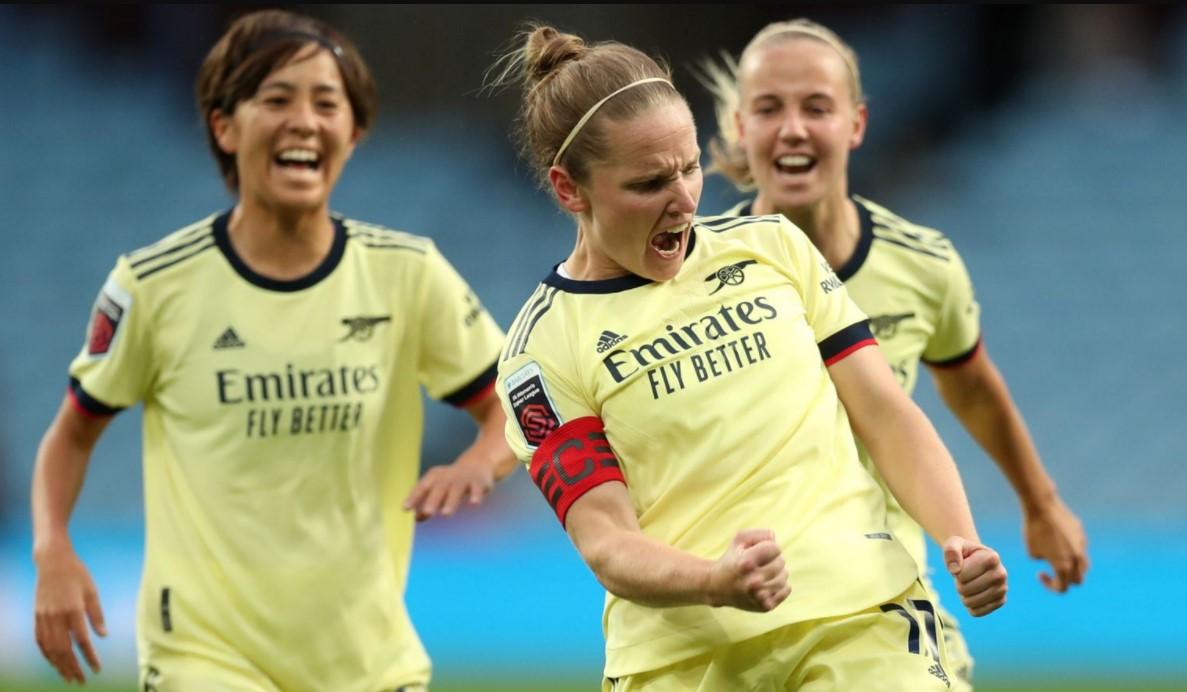 阿斯顿维拉女足以0比4输给了阿森纳女足