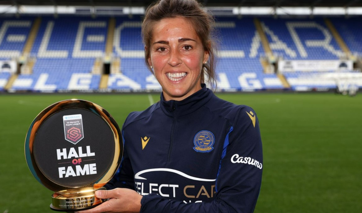 威廉姆斯成选名人堂的球员,以纪念女子超级联赛成立 10 周年
