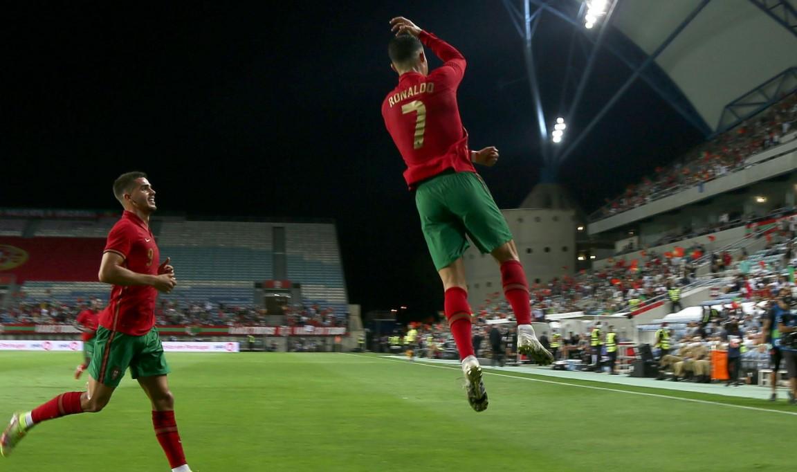 C罗增加了葡萄牙的得分记录