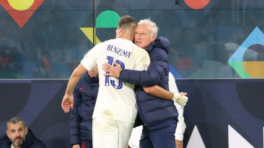 德尚在帮助法国队夺得国家联赛冠军后提高了本泽马的成熟度