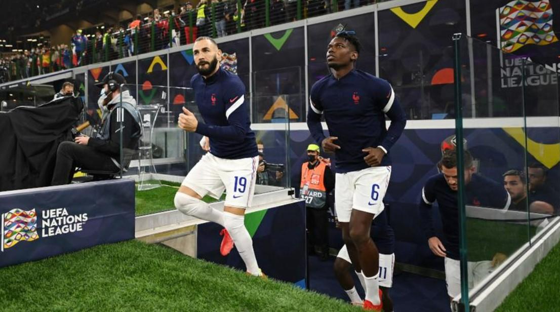 法国和西班牙在决赛中各做两处改动