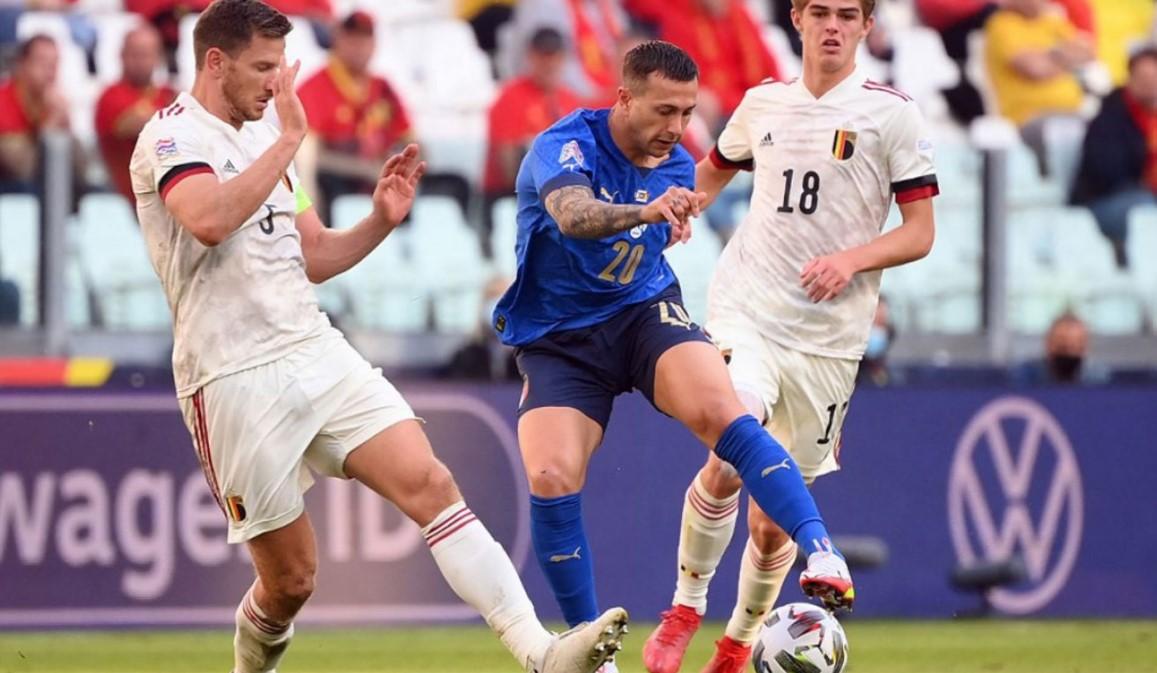 意大利击败比利时获得国家联赛第三名