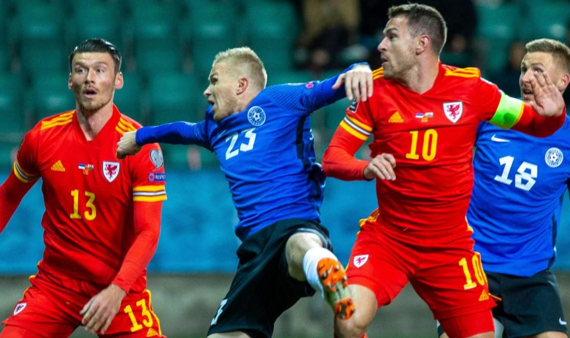 爱沙尼亚在世界杯预选赛中以0比1输给了威尔士