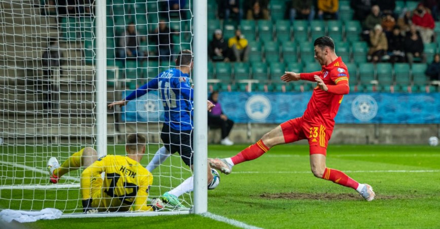 威尔士在对阵爱沙尼亚的比赛中全力以赴但终究在后期有点脱节
