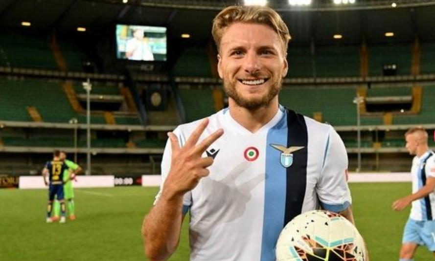 奇罗.因莫比莱将在拉齐奥对阵国际米兰的比赛中恢复上场